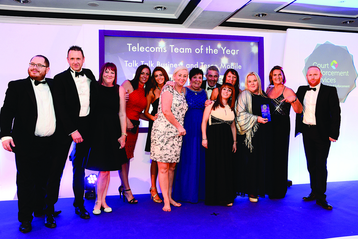 Talk Talk Business and Tesco Mobile, winners of the Telecoms Team of the Year 2016