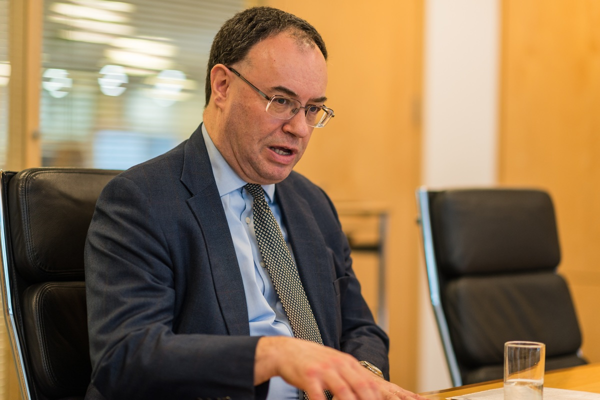 Andrew Bailey, chief executive of the FCA