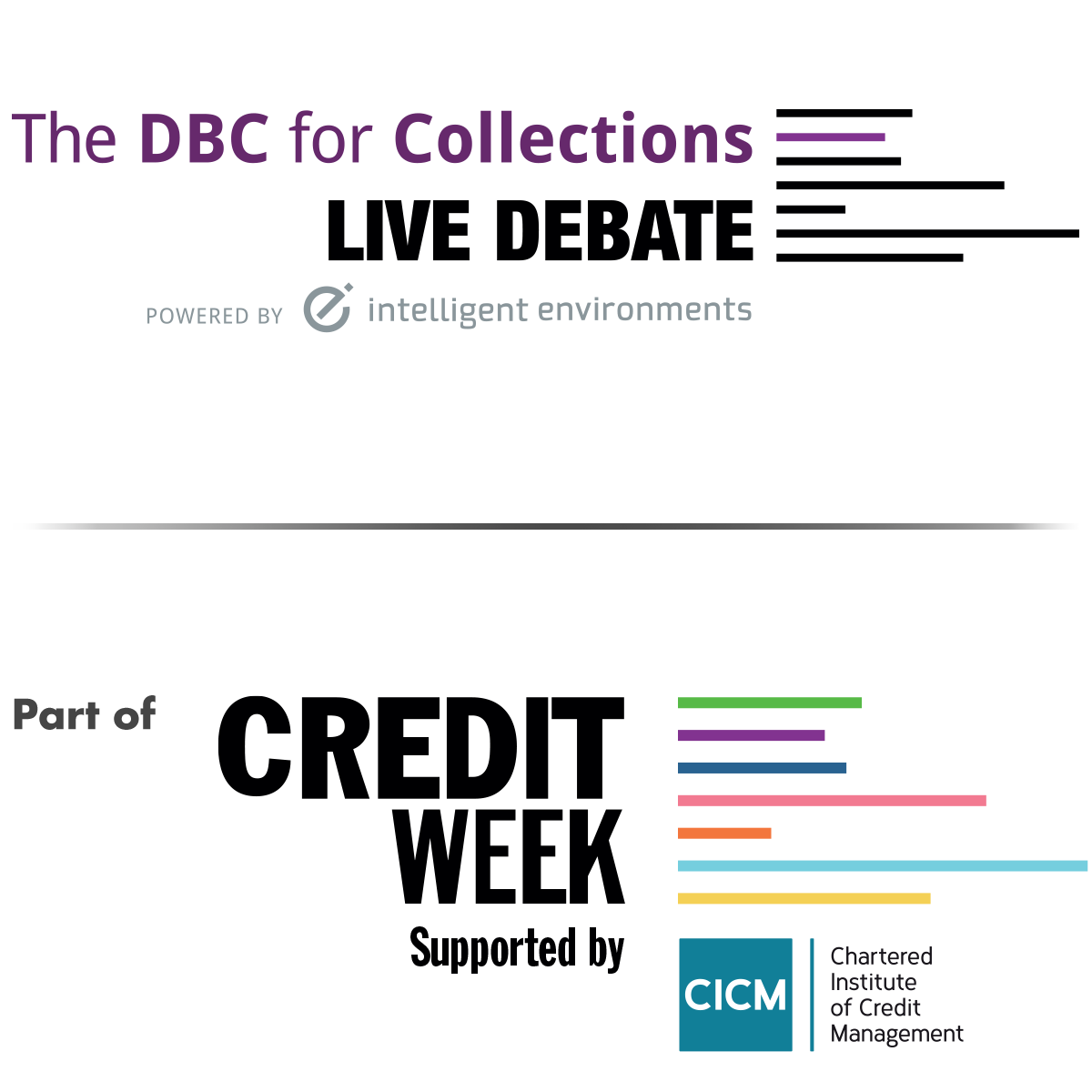 The DBC for Collections Live Debate - part of Credit Week