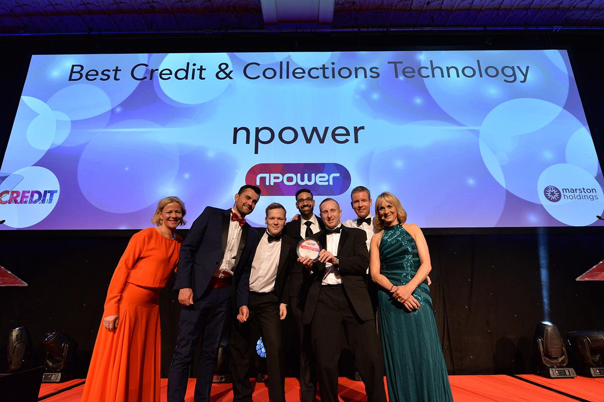 Npower: Winners of the Best Credit and Collections Technology Award