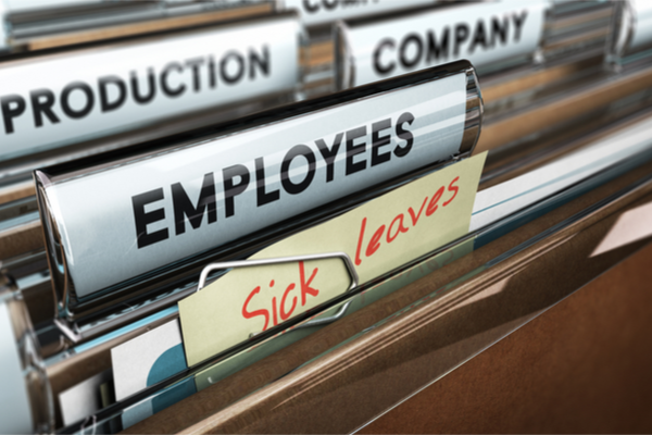Employee absence rates on the increase