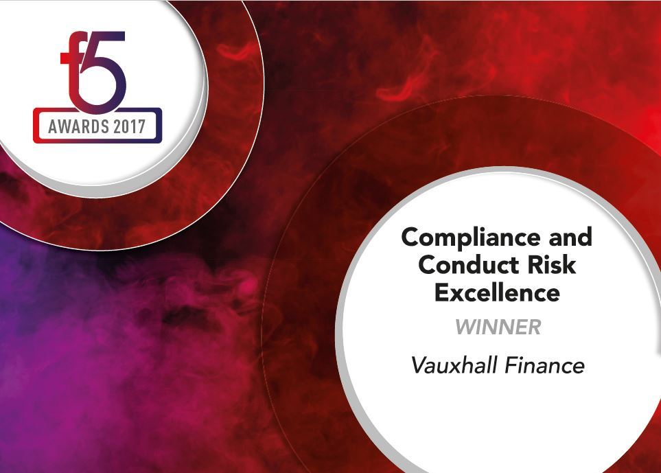Winners F5 2017 - 7 Compliance and Conduct Risk Excellence