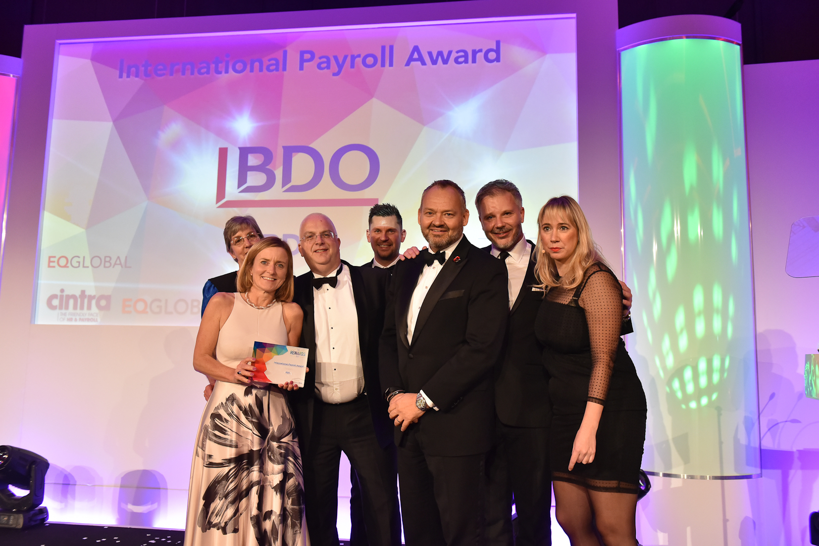 Winners 2017 - 9 International Payroll Award - sponsored by EQ Global