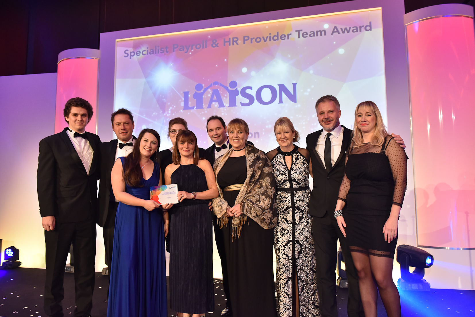 Winners 2017 - 16 Specialist Payroll & HR Provider Team Award