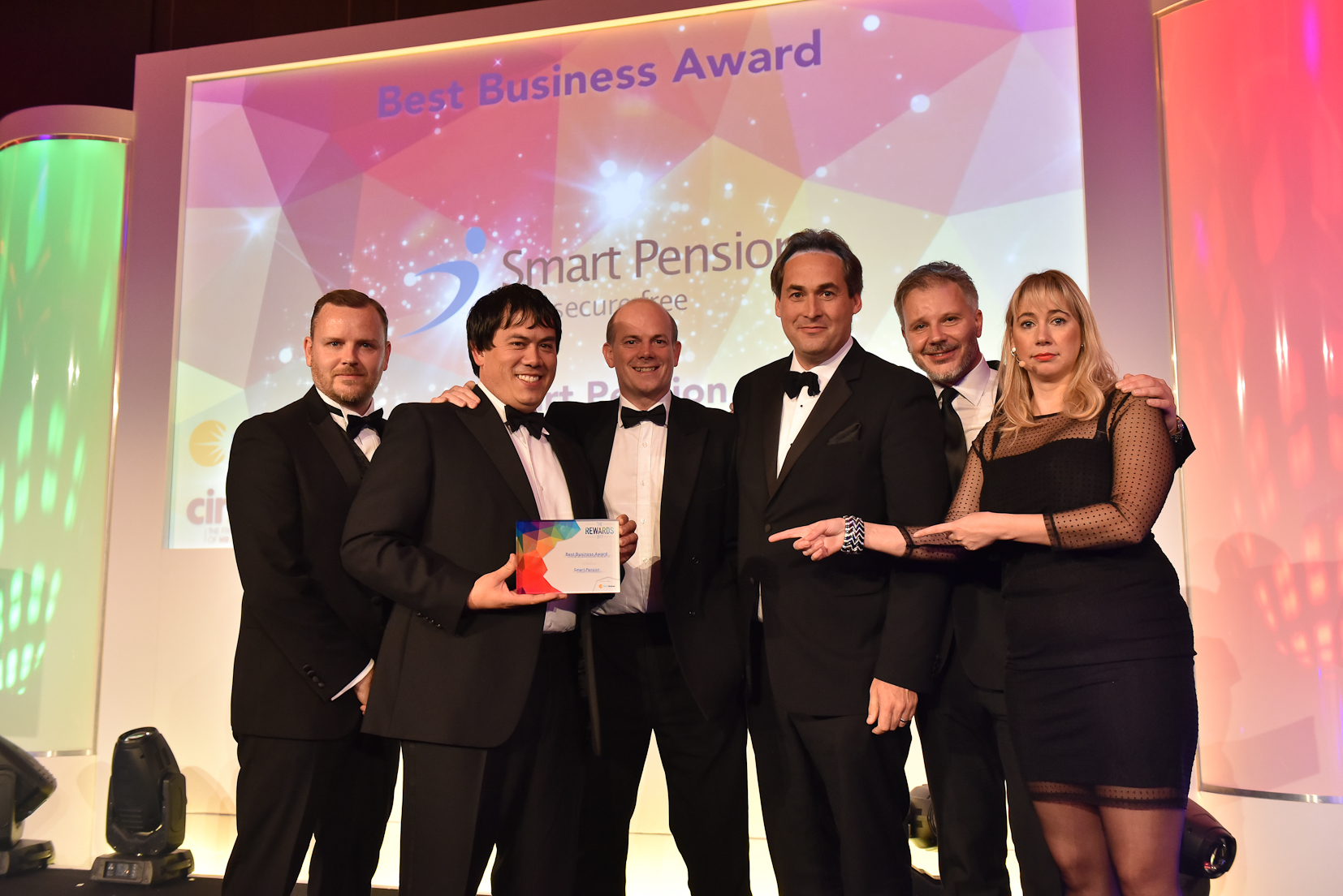 Winners 2017 - 1 Best Business Award - sponsored by FMP Global