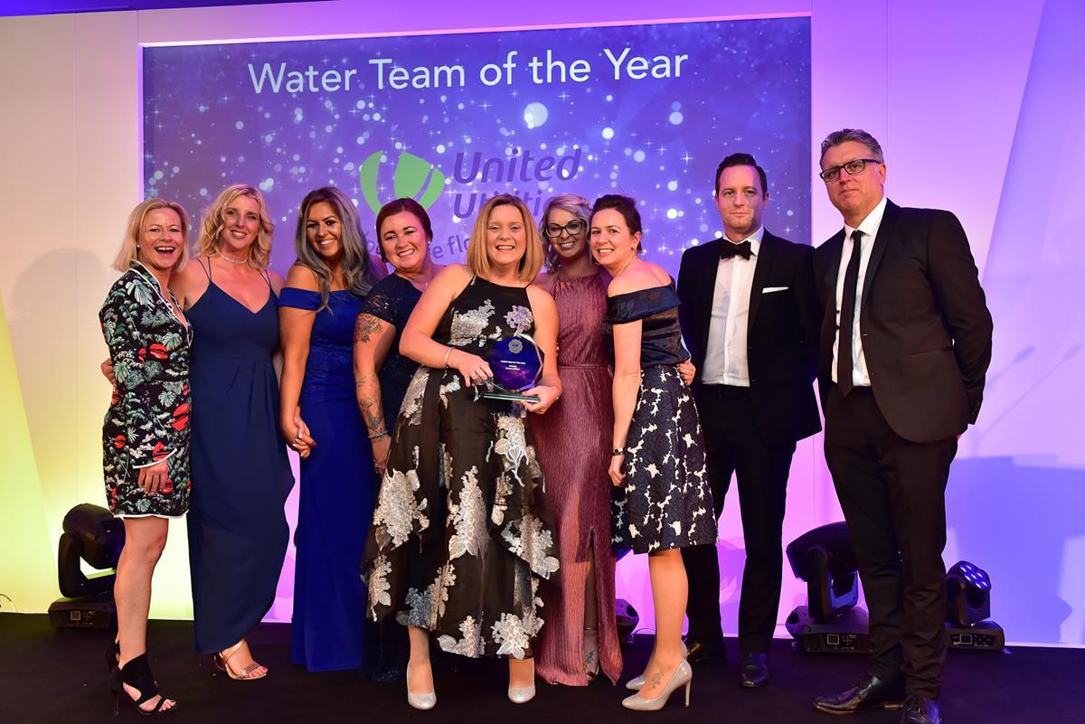 Water Team of the Year Winner: United Utilities