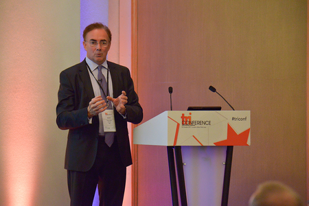 Tony Lomas, chairman of UK business recovery services, PwC, on Lehman at the TRI Conference