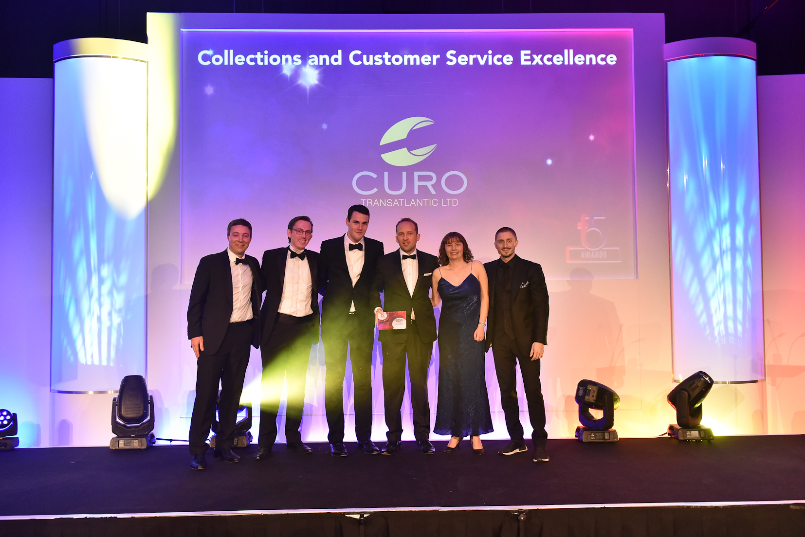 Winners F5 2017 - 6 Collections and Customer Service Excellence