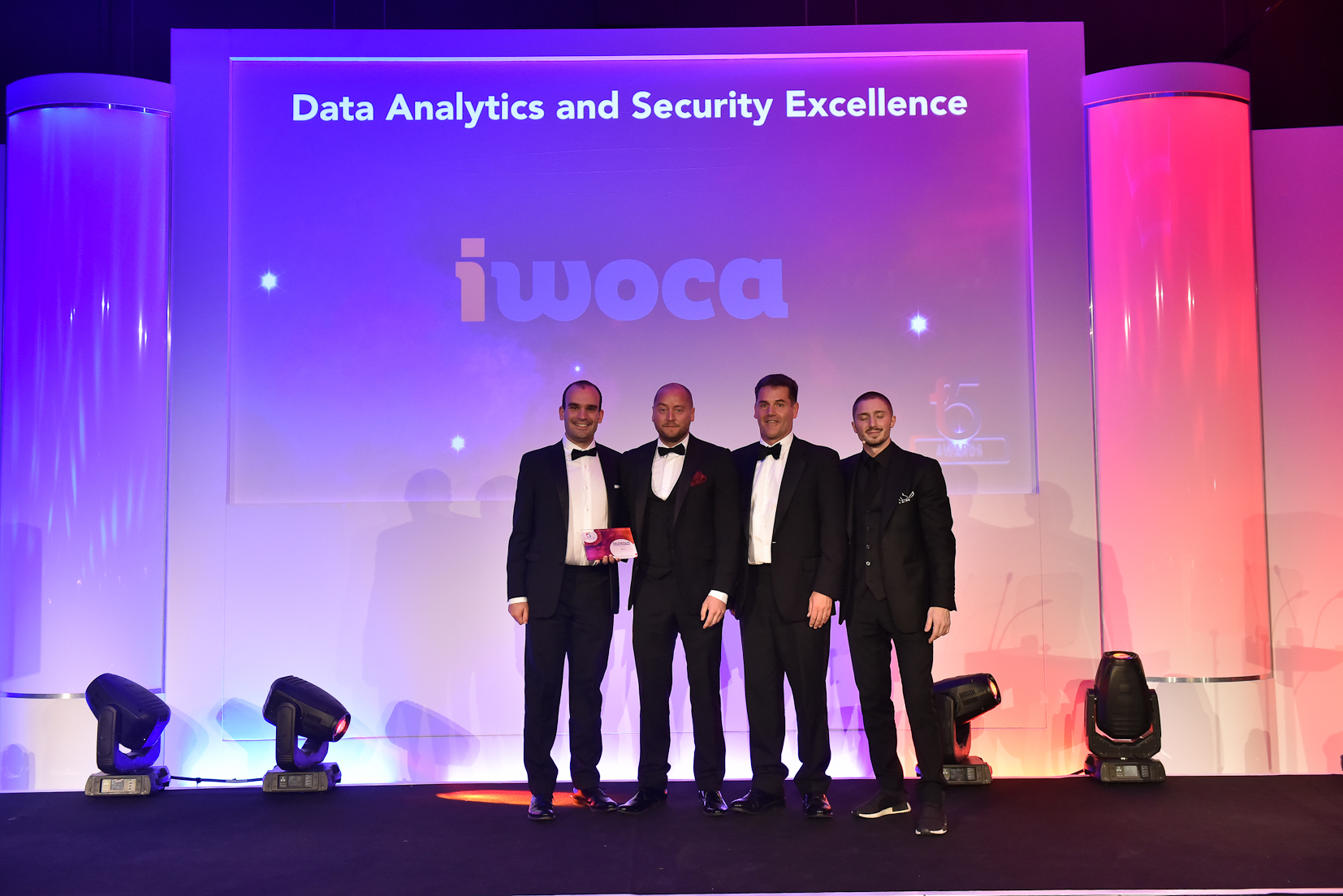 Winners F5 2017 - 8 Data Analytics and Security Excellence