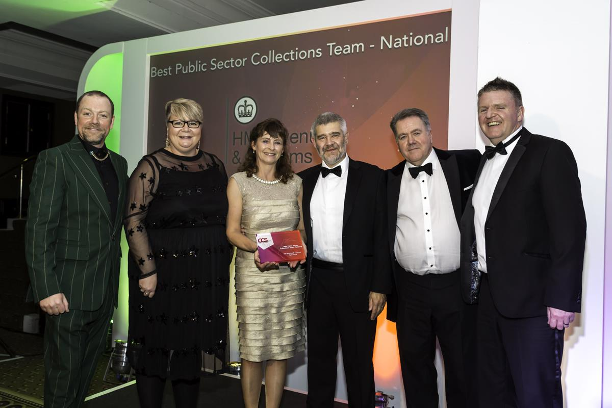 Best Public Sector Collections Team - National winner of 2017: HM Revenue & Customs, Field Force