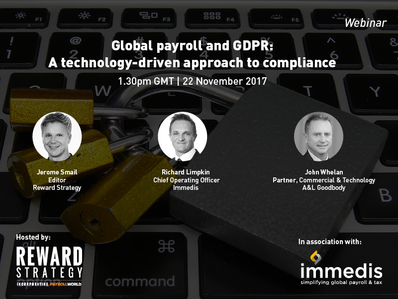 Global Payroll and GDPR: A technology-driven approach to compliance