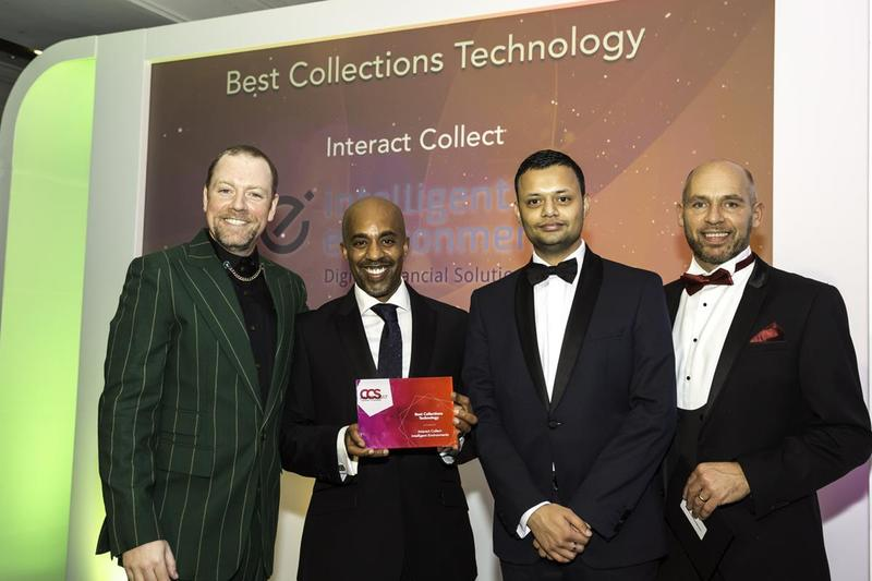 Host Rufus Hound with the Intelligent Environments team and far right, CCS judge Laurence Venn