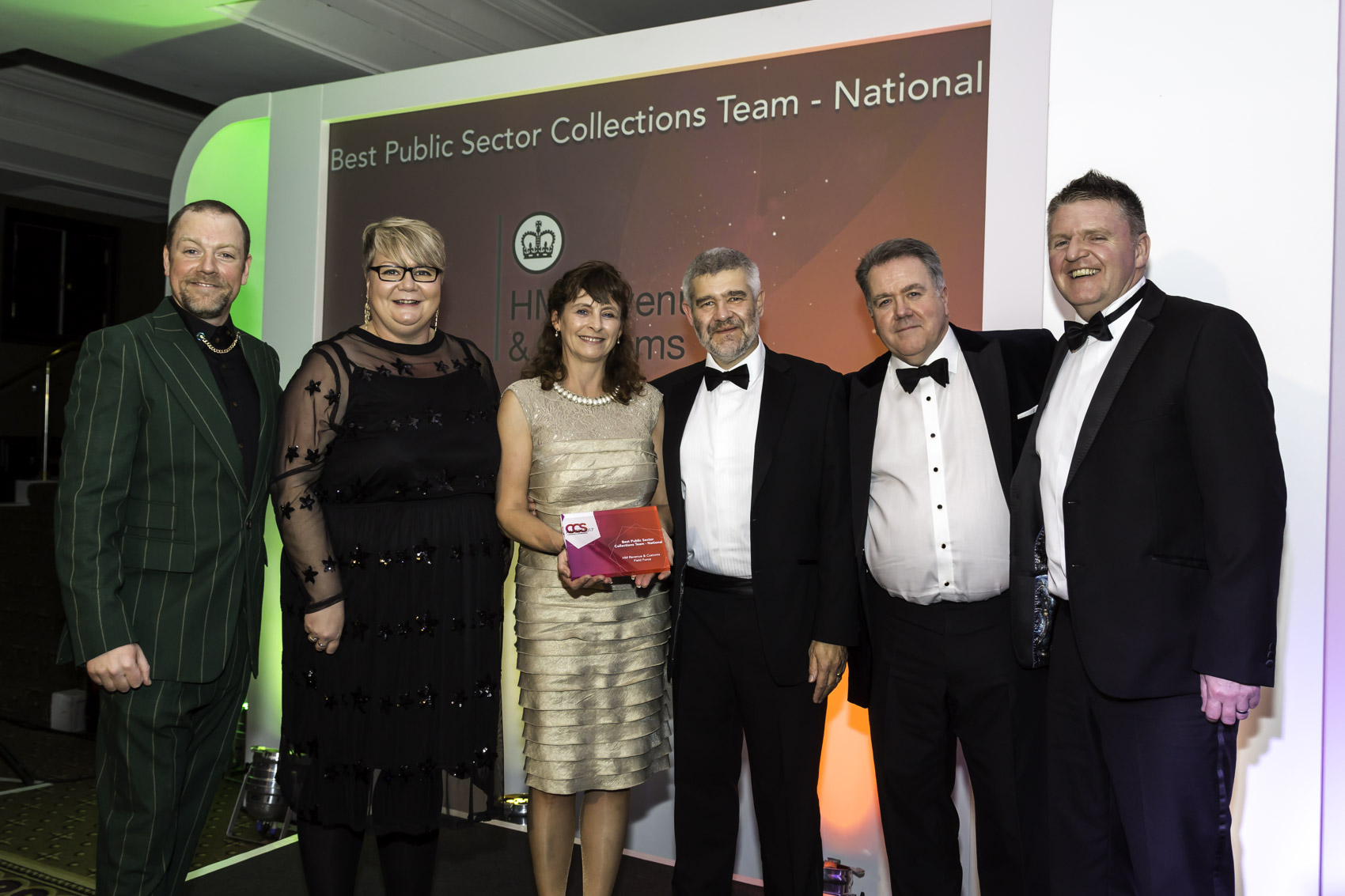 Winners CCS 2017 - 4 Best Public Sector Collections Team - National