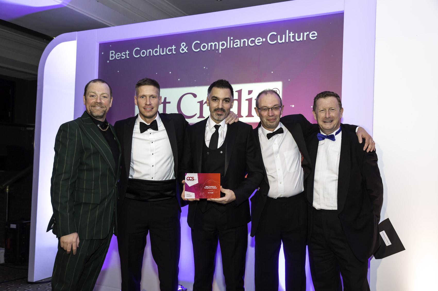Winners CCS 2017 - 8 Best Conduct & Compliance Culture