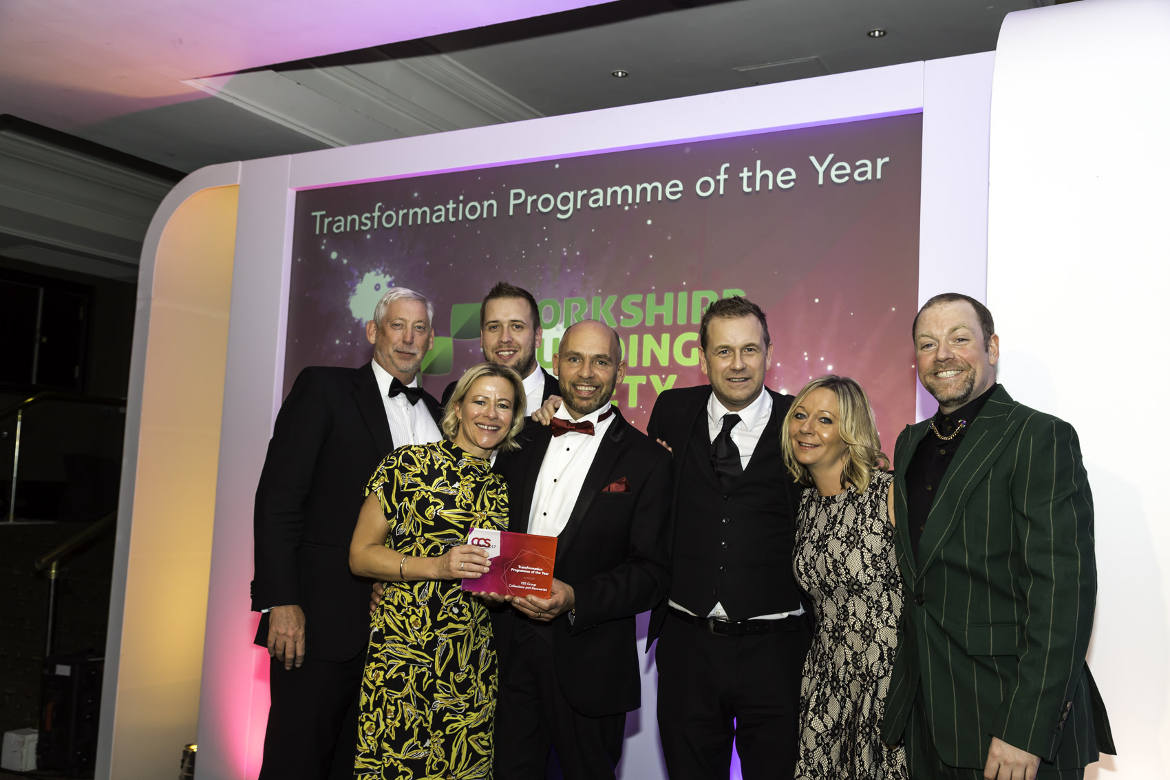 Winners CCS 2017 - 12 Transformation Programme of the Year