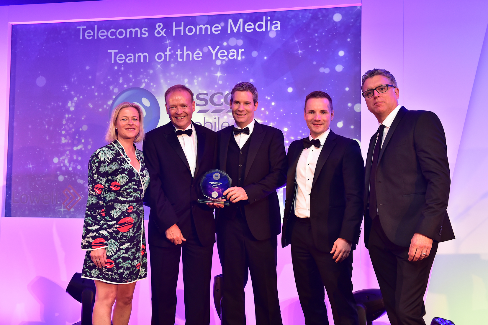 Winners U&TA 2017 - 7 Telecoms & Home Media Team of the Year