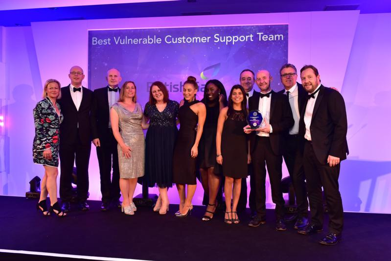 Winners U&TA 2017 - 3 Best Vulnerable Customer Support Team