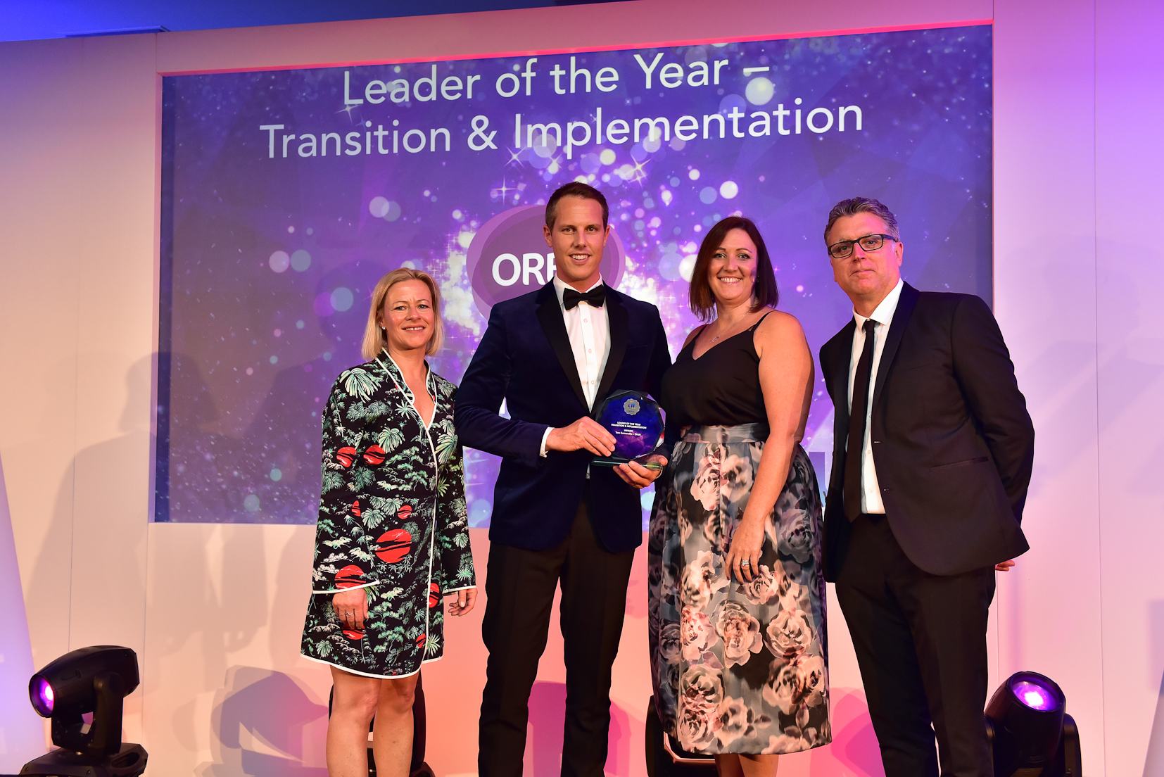 Winners U&TA 2017 - 6 Leader of the Year - Transition & Implementation