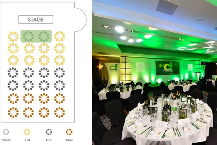 Platinum table - Car Finance Awards