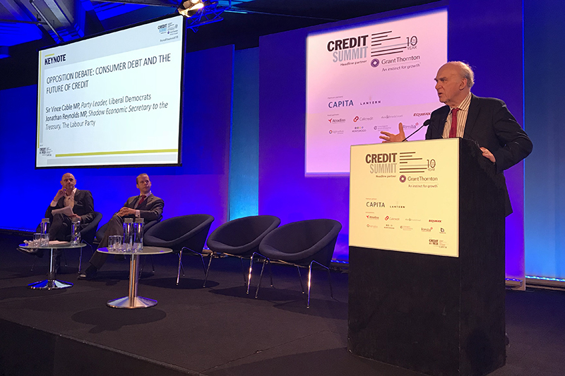 Sir Vince Cable: Return to crisis-levels of indebtedness on horizon