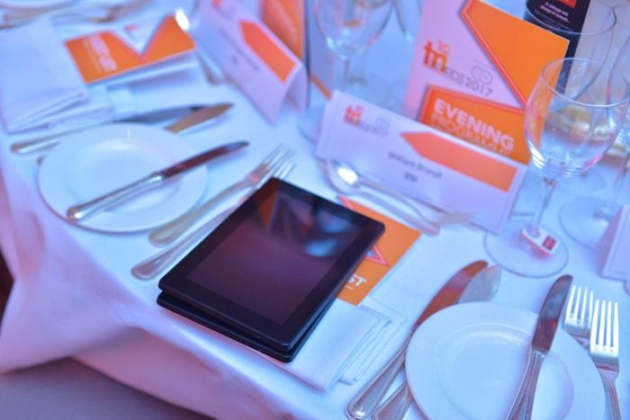 Gold seat - TRI Awards