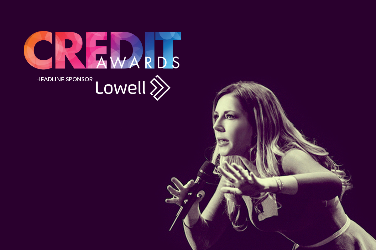 Katherine Ryan hosts the Credit Awards 2018, headline sponsored by Lowell
