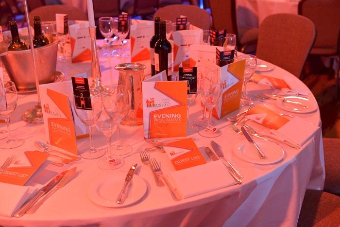 Bronze half table - TRI Awards