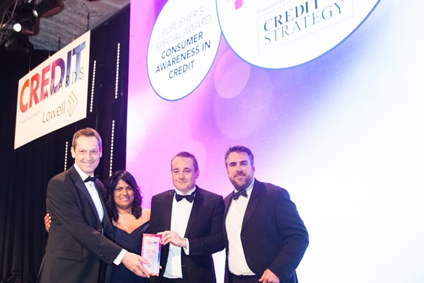 Publisher's Special Award - Consumer Awareness in Credit