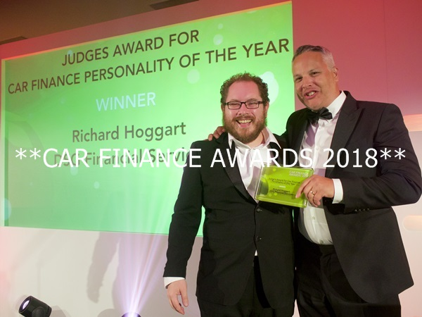 Judges award for Car Finance Personality of the Year
