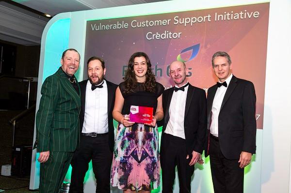 Vulnerable Customer Support Team Initiative (creditor) winner 2017: British Gas