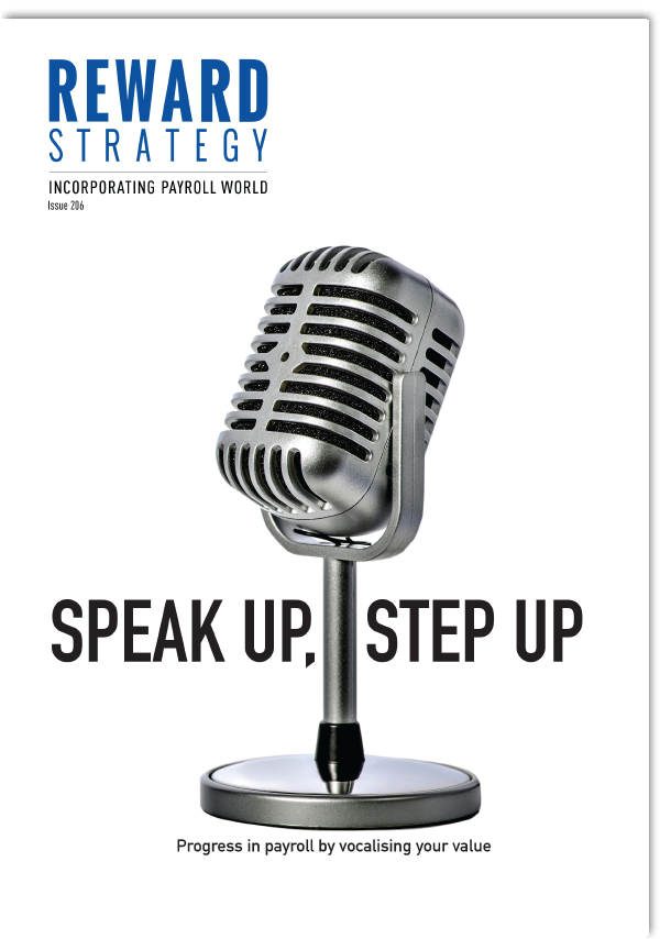 Speak up, step up: Progress in payroll by vocalising your value