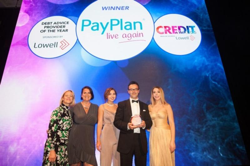 L-R:Vicki Clubley - Credit Strategy, Samantha Barnard - Lowell, Iona Murray & Andrew Alder - PayPlan