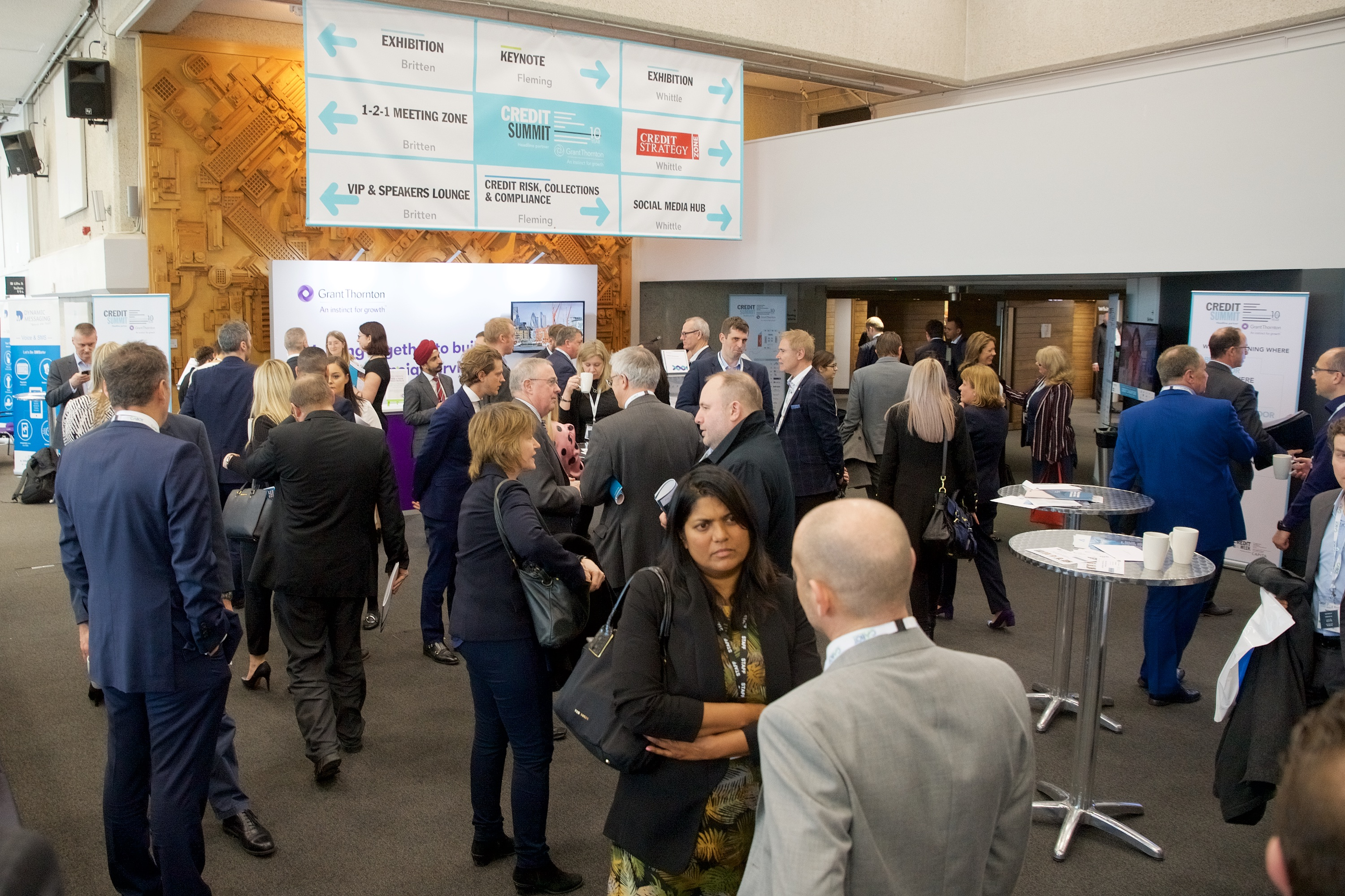 Be part of the UK's largest credit exhibition