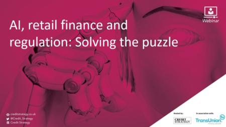 AI, retail finance and regulation: Solving the puzzle