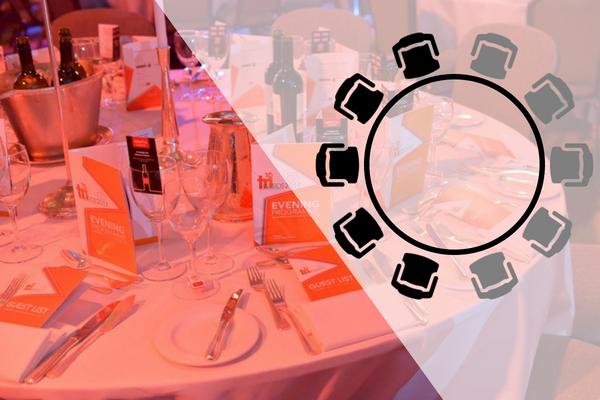 Silver half table - TRI Awards