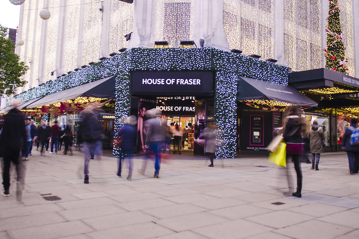 Customers' anger over House of Fraser gift cards