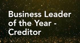Business Leader of the Year - Creditor