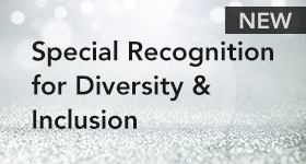 Special Recognition for Diversity & Inclusion