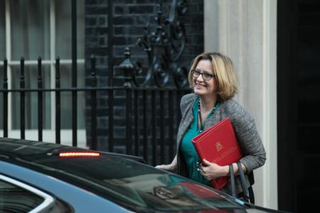 Amber Rudd to return to cabinet as work and pensions secretary