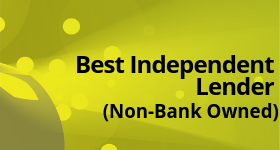 Best Independent Lender (Non-Bank Owned)