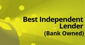 Best Independent Lender (Bank Owned)
