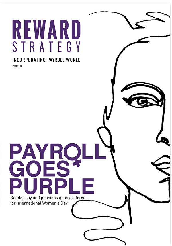 Payroll goes purple