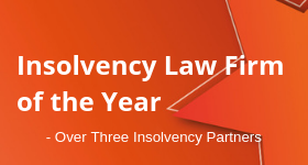 Insolvency Law Firm of the Year (Over Three Insolvency Partners)