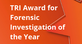 TRI Award for Forensic Investigation of the Year