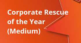 Corporate Rescue of the Year (Medium)