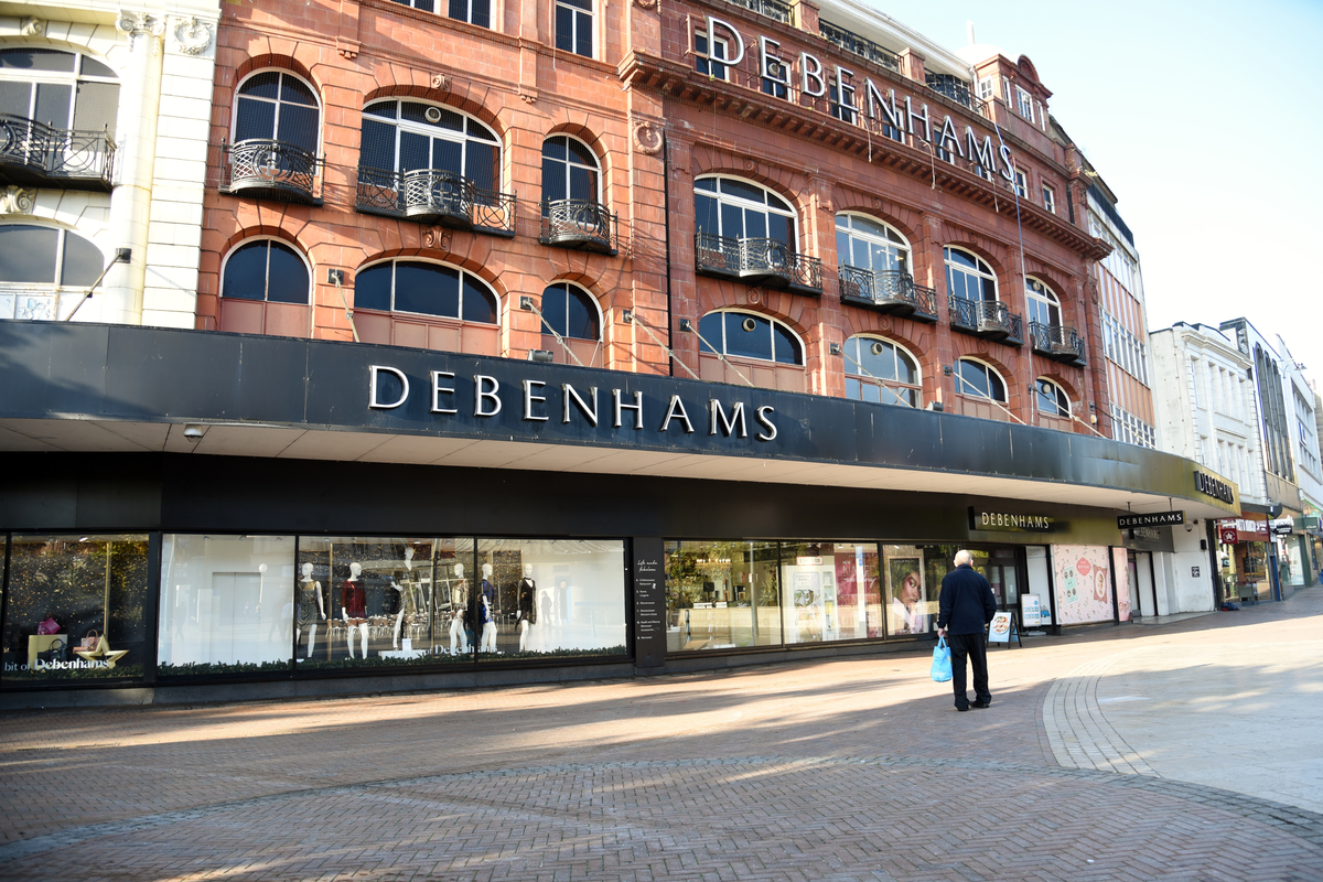 Debenhams' lenders take control after pre-pack administration