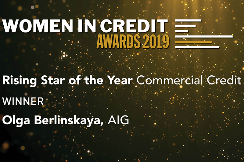 Rising Star of the Year - Commercial Credit