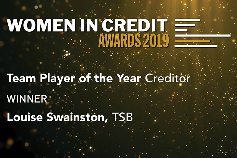 Team Player of the Year – Creditor