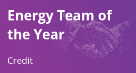 Energy Team of the Year – Credit