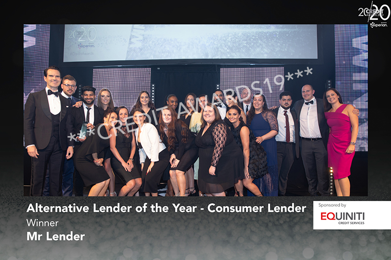 Alternative Lender of the Year - Consumer Lender